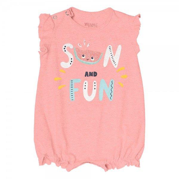 macaquinho bebe menina sun rosa claro 104332 8810