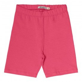 bermuda ciclista infantil feminina basica pink 104431ab 8872