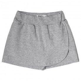 short saia infantil feminino basico mescla 104434ab 8880