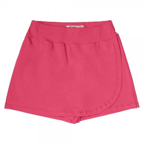 short saia infantil feminino basico pink 104434ab 8879