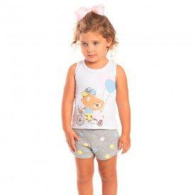 conjunto infantil feminino urso poa branco mescla 1250 8621 2