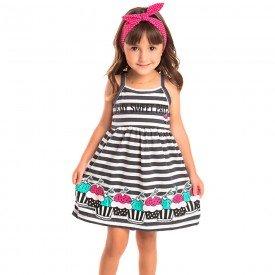 vestido infantil feminino sweet preto 1258 8645 2