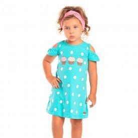 vestido infantil feminino poa verde 1260 8653 2