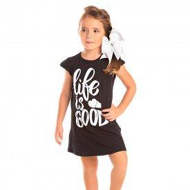 vestido infantil feminino life preto 1278 8667 2