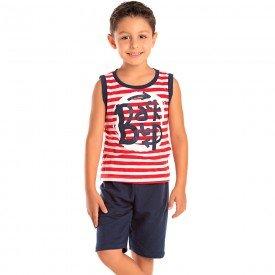 conjunto infantil masculino backup vermelho marinho 1299 8784 2