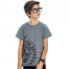 camiseta juvenil masculina surf cinza monumento 4594 9171