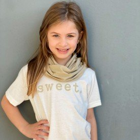 t shirt infantil unissex off white sweet gola 8574