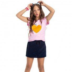 conjunto juvenil feminino heart sorvete marinho 4542 9081