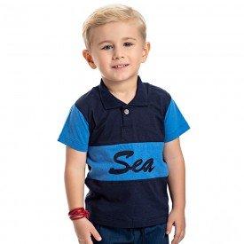camisa polo infantil masculina sea marinho palacio 4565 9133