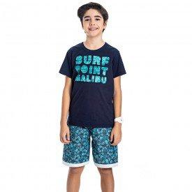 conjunto juvenil masculino malibu marinho marinho 4596 9174