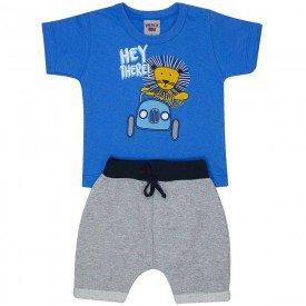 conjunto bebe menino hey there azul palacio mescla 4555 9109