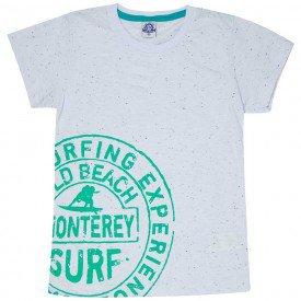 camiseta juvenil masculina surf branca 4594 9170