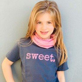 t shirt infantil chumbo sweet gola tutti frutti c 02 04 03 g modelinho 8560