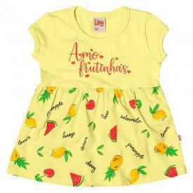 vestido body bebe menina frutas melao 6647 8925