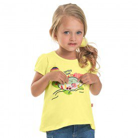 blusa infantil feminina turtley melao 6667 8937