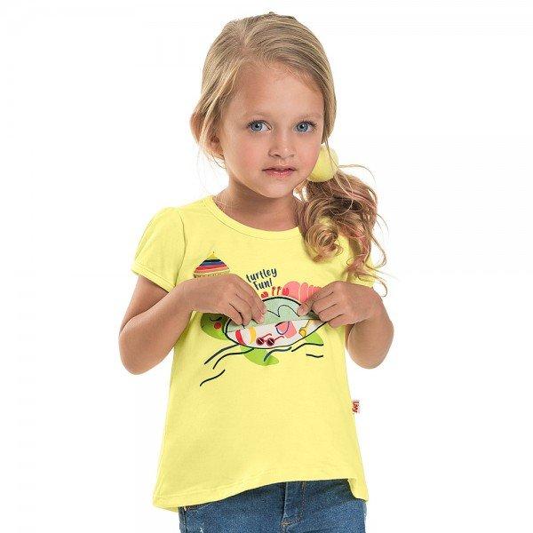 blusa infantil feminina turtley melao 6667 8937