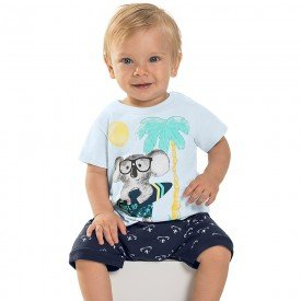 conjunto bebe menino coala lavanda navy 6720 8948