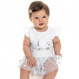body bebe menina princess branco 6809 9031