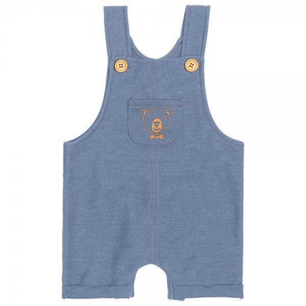 jardineira bebe menino bear azul 6872 9039