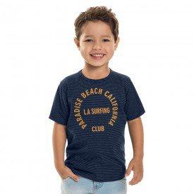 camiseta infantil masculina la surfing marinho 6887 9043