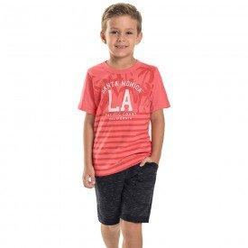 conjunto infantil masculino la vermelho genebra preto 6750 8993