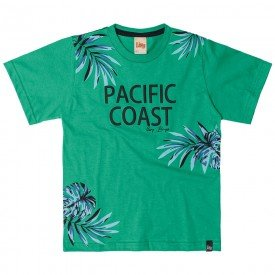 camiseta infantil masculina pacific coast alecrim 6765 9007