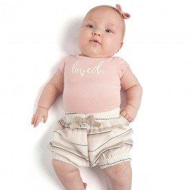 conjunto bebe menina loved rosa candy off white 0081 9290