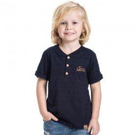 camiseta infantil masculina gola padre marinho 5334 6332 9338