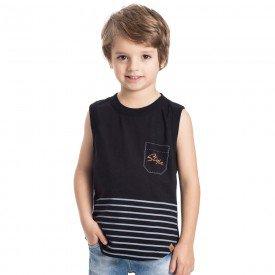 regata machao infantil masculina style preta 5337 9341