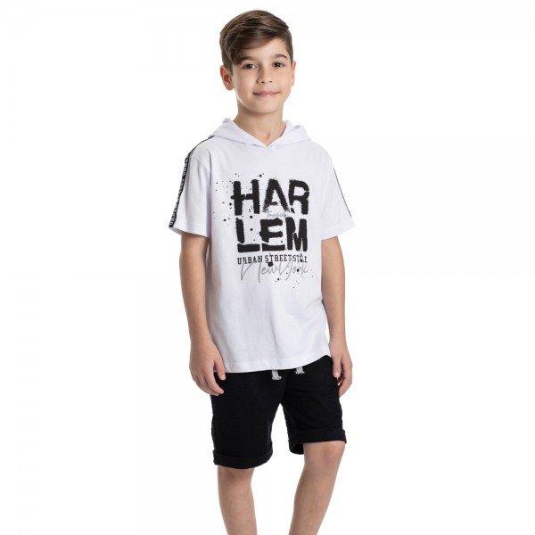 conjunto infantil masculino urban branco preto 6323 9350