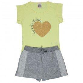 conjunto juvenil feminino heart lemonade mescla 4542 9082