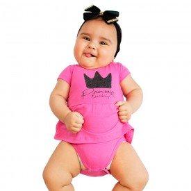vestido bebe menina princess pink kw004 9385