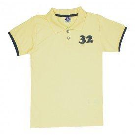 camisa polo juvenil masculina melao 4597 9177