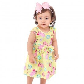 vestido bebe menina donuts lima 161053 9431