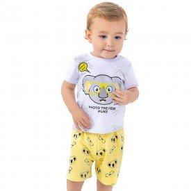 conjunto bebe menino coala branco lima 161003 9455