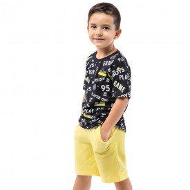 conjunto infantil masculino play preto lima 161036 9492