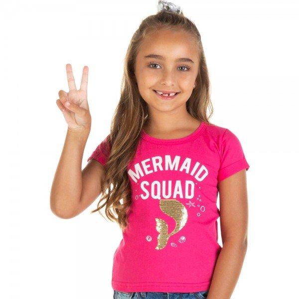 blusa infantil feminina rosa pink 11651 9534