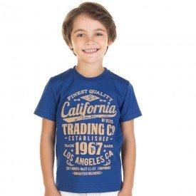 camiseta infantil masculina california azul escuro 11724 9579