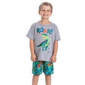 pijama infantil masculino dinos mescla colorido 22242 9718