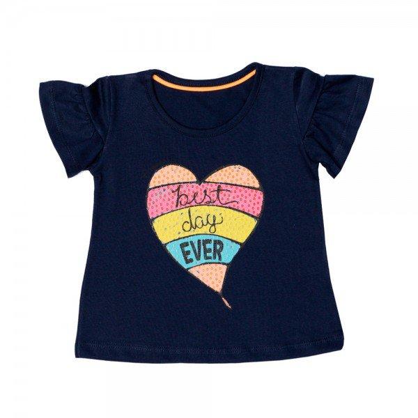 blusa infantil feminina marinho 11628 9530