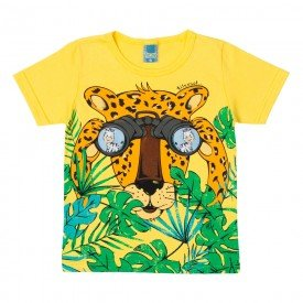 camiseta infantil masculina interativa amarela 11700 9563 2
