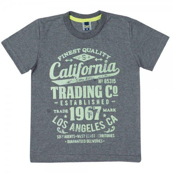 camiseta infantil masculina california mescla dark 11724 9578