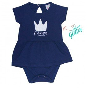 vestido bebe menina princess marinho kw004 9384