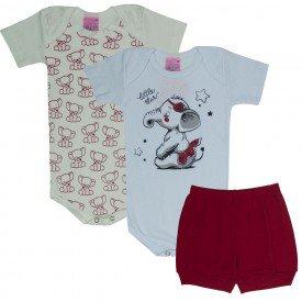 kit body bebe 3 pecas elefante branco off vermelho 1706 9494 2 copia