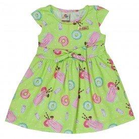 vestido bebe menina donuts lima 161053 9431 2