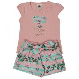 conjunto bebe menina summer rosa light verde 161059 9433