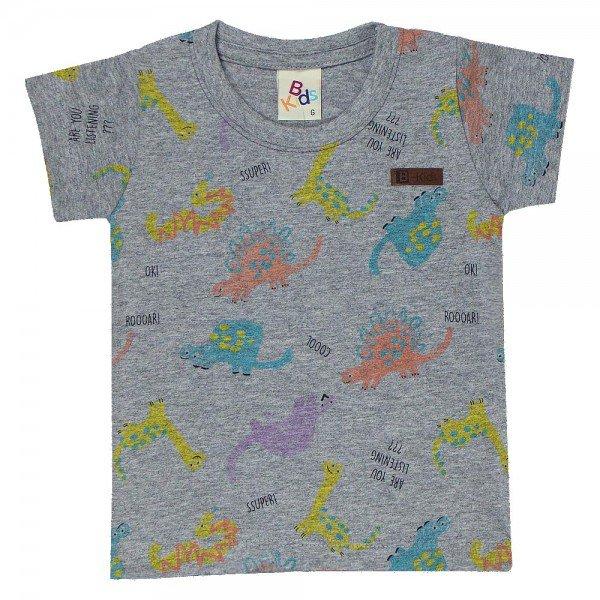 camiseta bebe menino dinossauros mescla 161001 9451