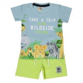 conjunto bebe menino safari azul claro lima 161005 9458