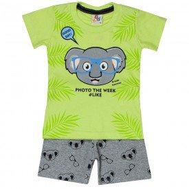conjunto bebe menino coala lima mescla 161003 9456