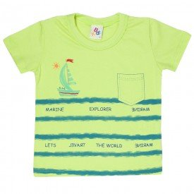 camiseta infantil masculina explore lima 161012 9469